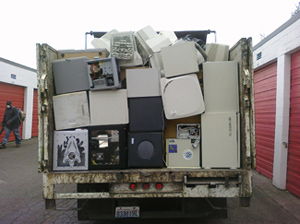 Commercial electronics recycling
