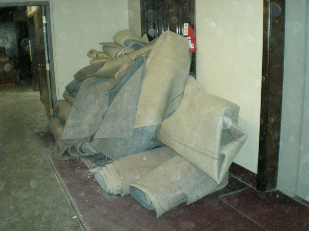 Old Pile of Carpet